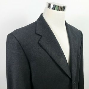 Example x Missoni Mens 42R Sport Coat Black 100% W